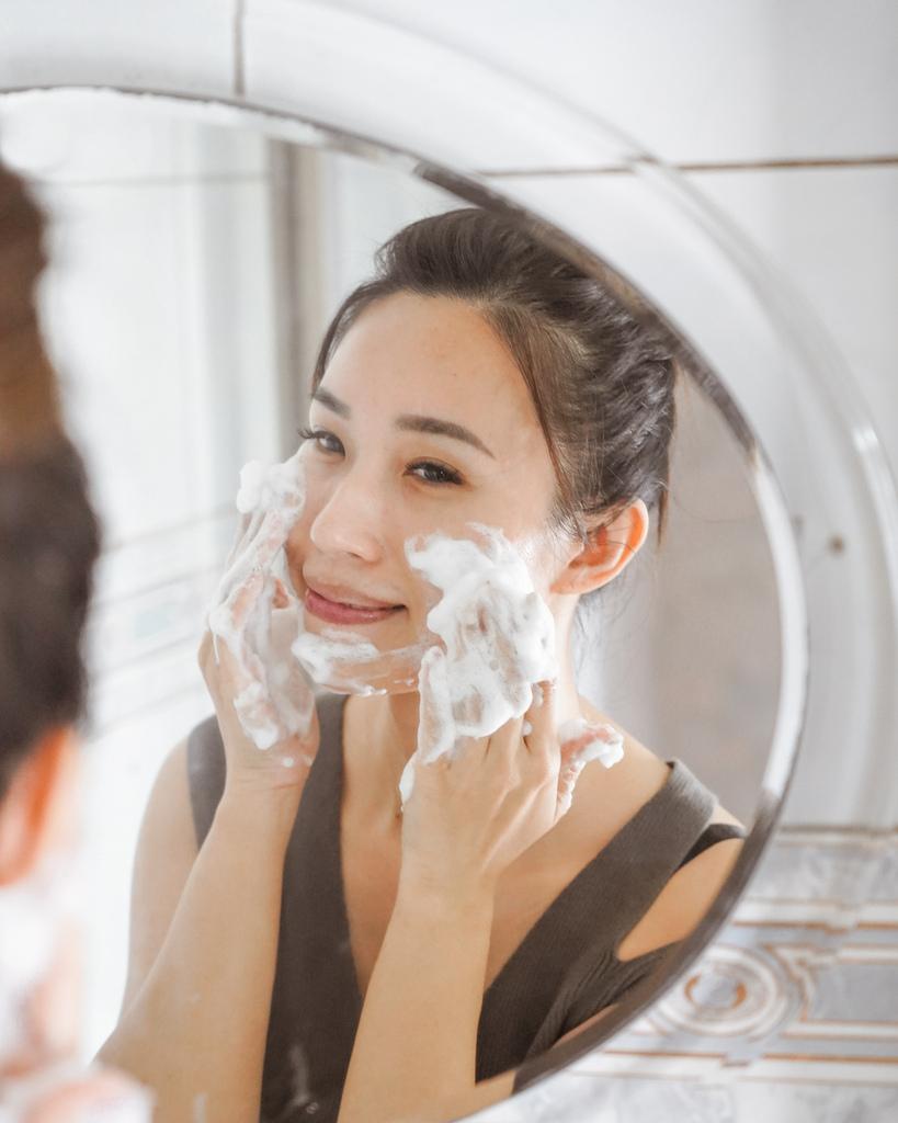 開架洗面乳推薦  日本MELLSAVON草本系列 洗面乳 洗面慕斯 屈臣氏也買得到6.JPG
