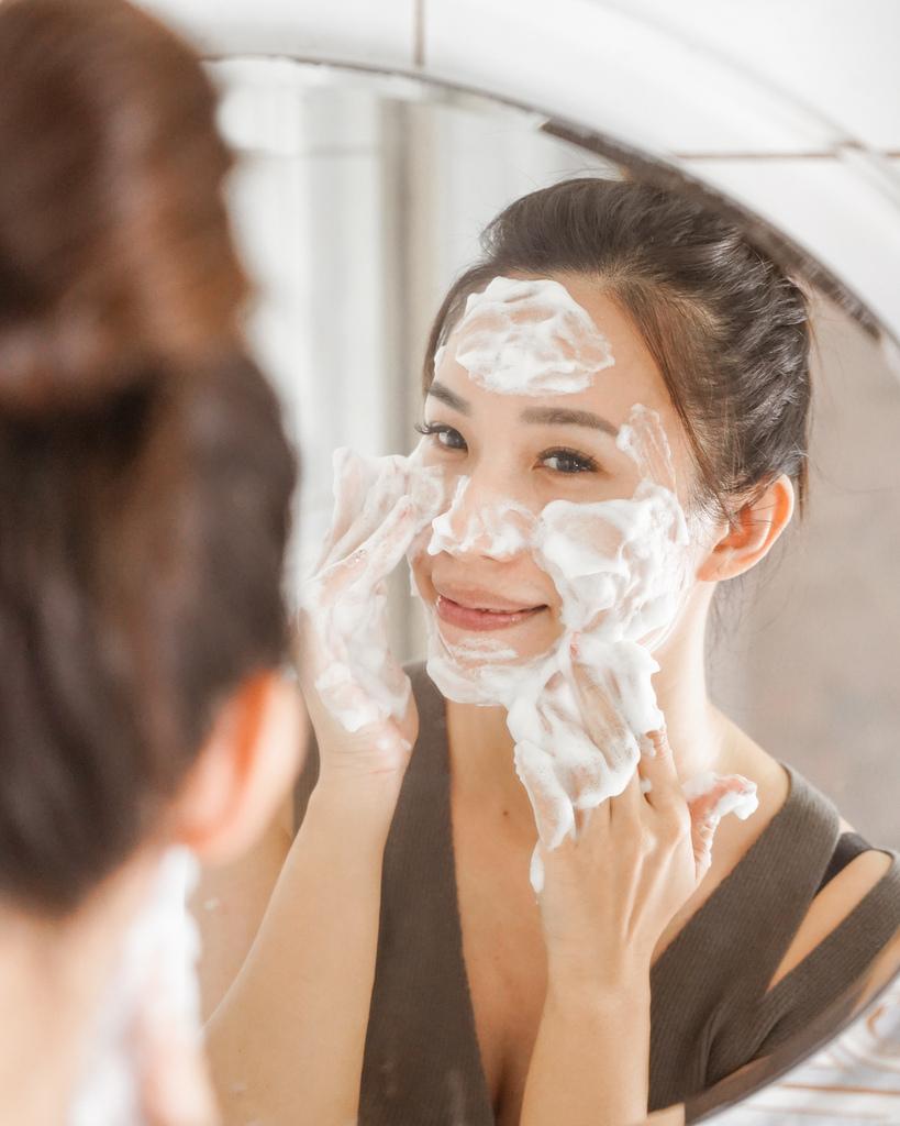 開架洗面乳推薦  日本MELLSAVON草本系列 洗面乳 洗面慕斯 屈臣氏也買得到7.JPG