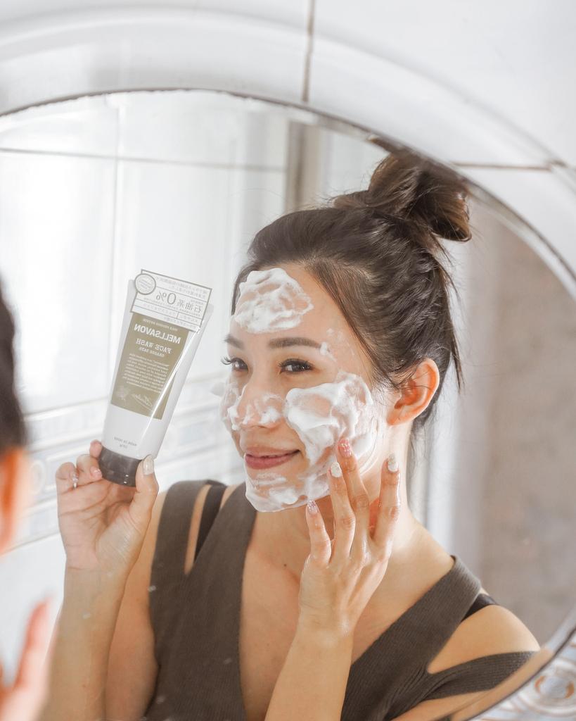 開架洗面乳推薦  日本MELLSAVON草本系列 洗面乳 洗面慕斯 屈臣氏也買得到8.JPG