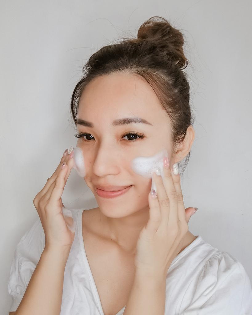 開架洗面乳推薦  日本MELLSAVON草本系列 洗面乳 洗面慕斯 屈臣氏也買得到14.jpg