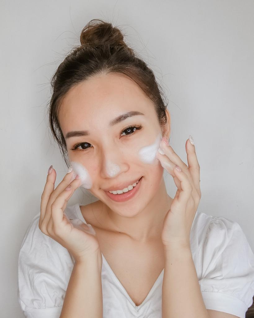 開架洗面乳推薦  日本MELLSAVON草本系列 洗面乳 洗面慕斯 屈臣氏也買得到15.JPG