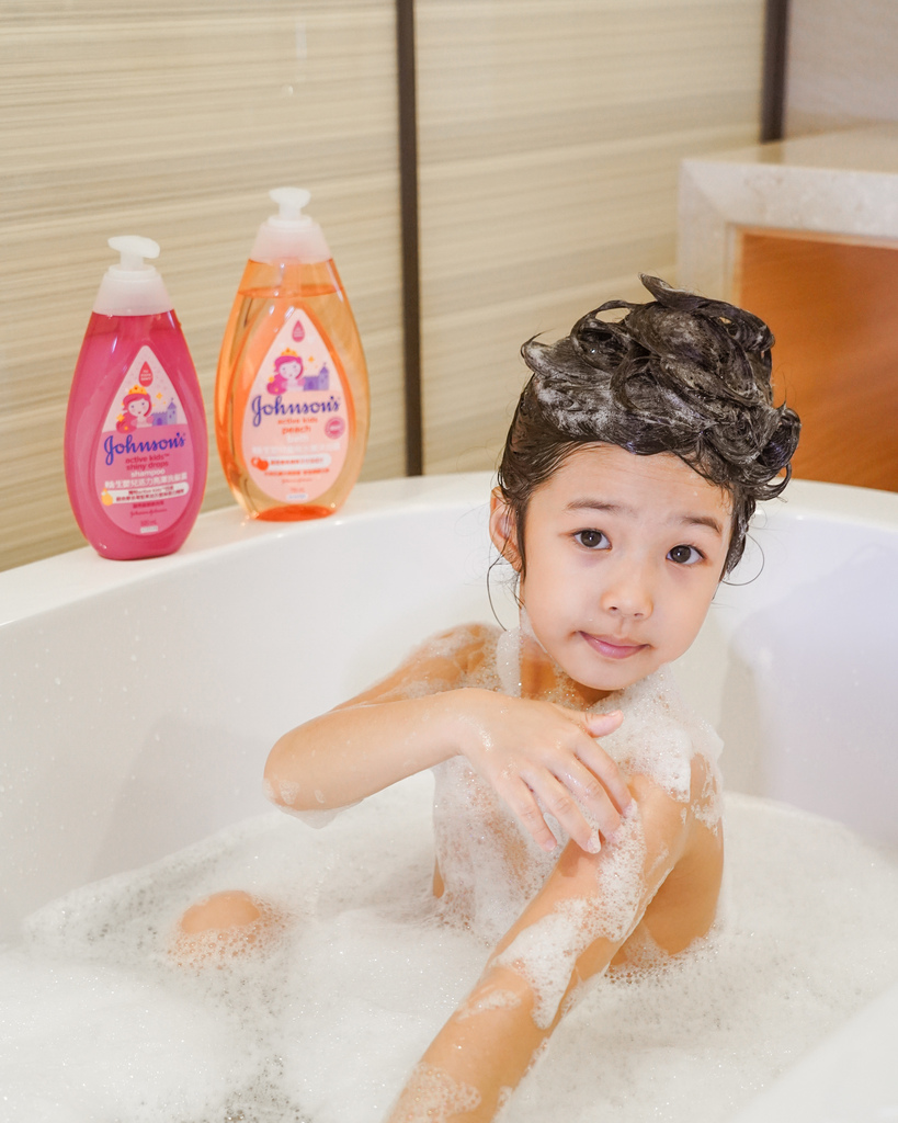 嬌生嬰兒公主沐浴露 新登場 大寶貝的洗澡好朋友 嬌生嬰兒蜜桃水嫩沐浴露12.jpg