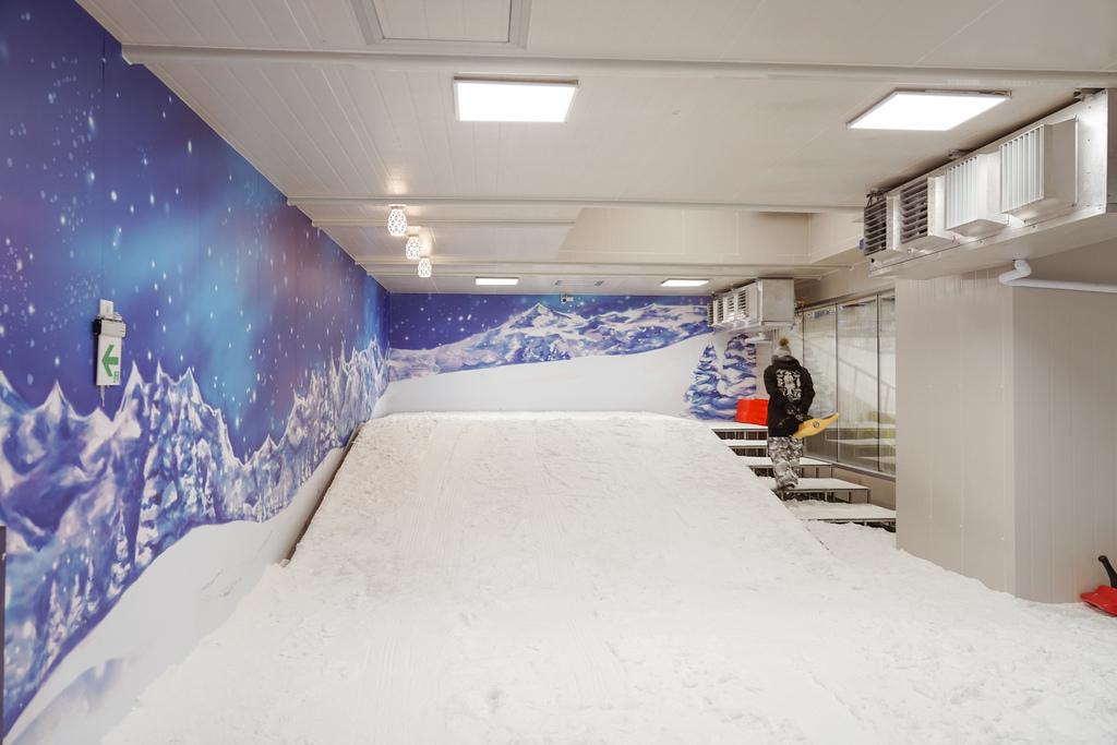 高雄飄雪樂園 不出國也能玩雪 體驗零下三度雪花從天而降 偽出國親子行程21.JPG