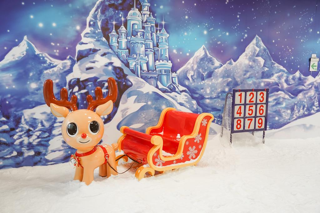 高雄飄雪樂園 不出國也能玩雪 體驗零下三度雪花從天而降 偽出國親子行程25.JPG