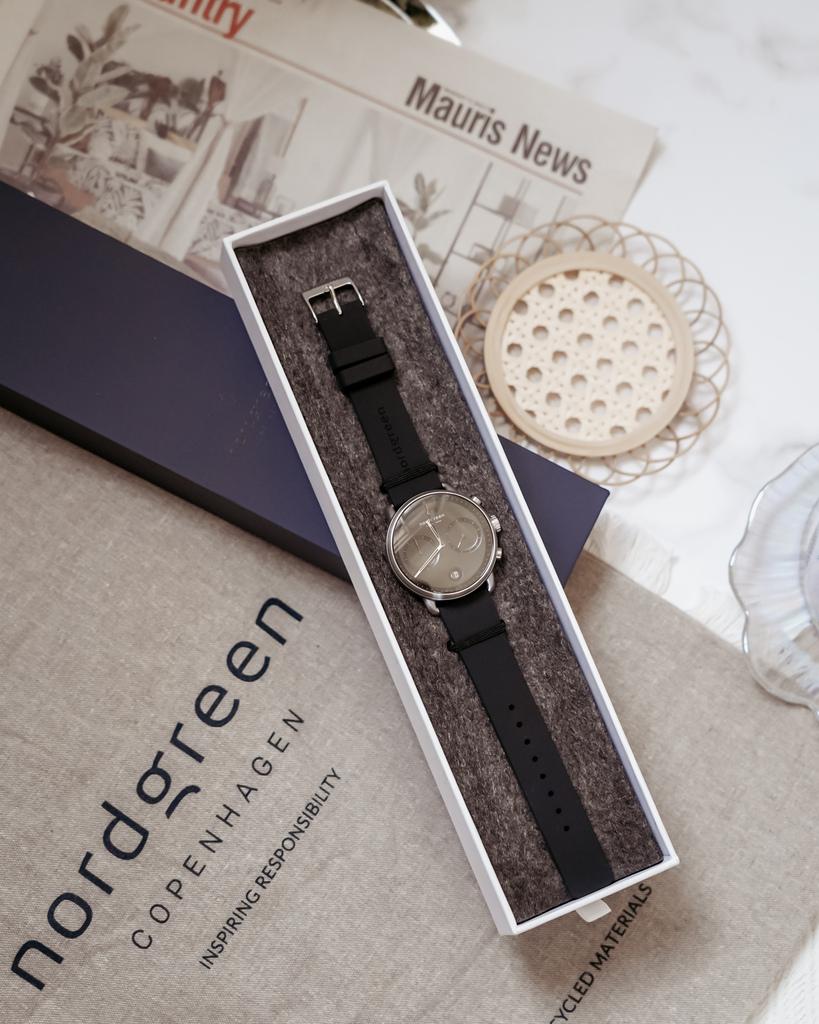 NORDGREEN 最愛夏日單品 Pioneer極夜黑錶盤極夜黑矽膠錶帶 內有85折扣碼5.jpg