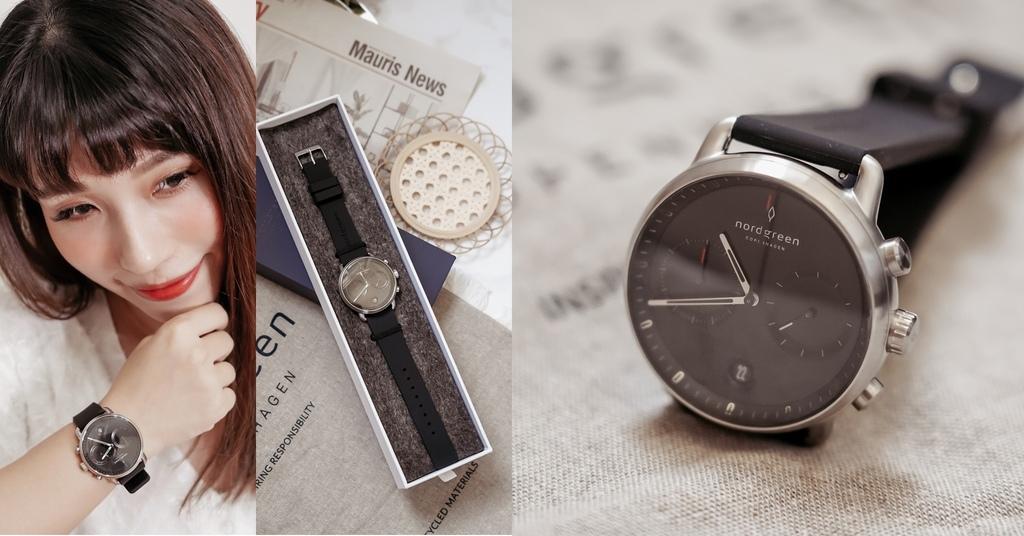 NORDGREEN 最愛夏日單品 Pioneer極夜黑錶盤極夜黑矽膠錶帶 內有85折扣碼.jpg