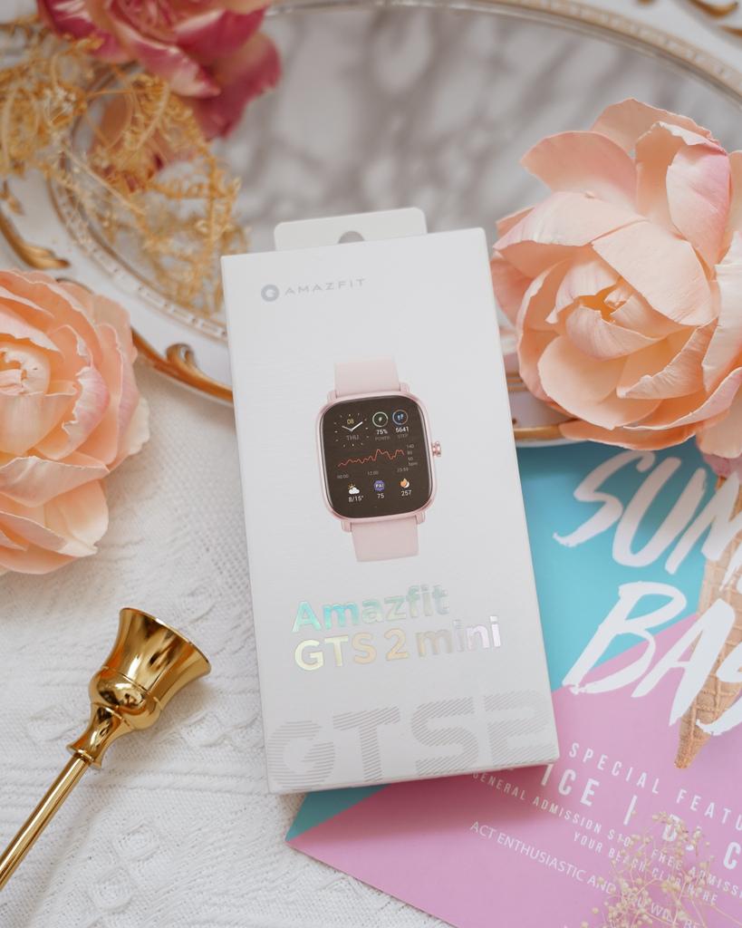開箱 Amazfit GTS 2 mini 科技時尚兼具的超輕薄健康運動智慧手錶1.jpg