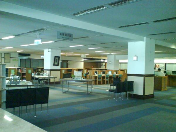 圖書館內裝