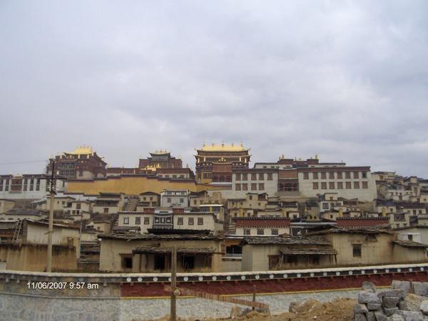 中甸松赞林寺