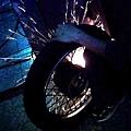 修改後輪軸套筒
