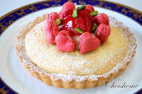 玫瑰紅苺蜂蜜威士忌馬卡龍蛋糕