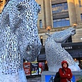 45. Edinburgh - The Kelpies  the mythological horses that can morph into other creatures.jpg