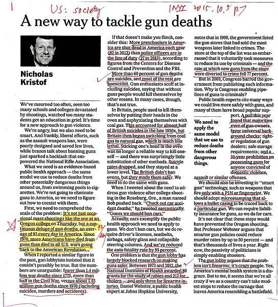 20151019 A new way to tackle gun deaths
