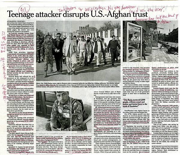 20181106 Teenage attacker disrusots U.S.-Afghan trust.1+2 OK.jpg
