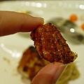 喀滋喀滋的烤豬皮超香的