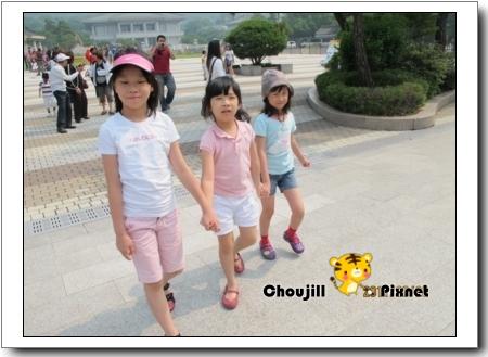 來韓國第四天總算看見陽光