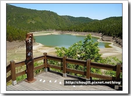 翠峰湖的最佳拍攝角度