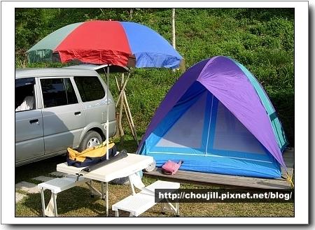 露營嘛就是要有帳蓬