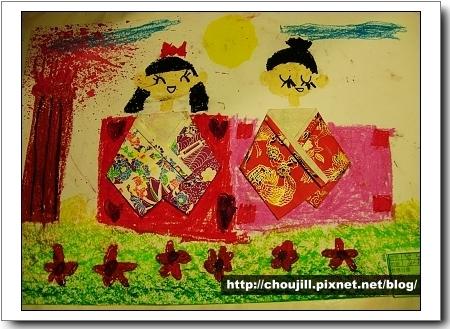 『紙娃娃』小敏做了二個日本娃娃