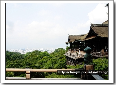 清水寺可遠眺京都塔