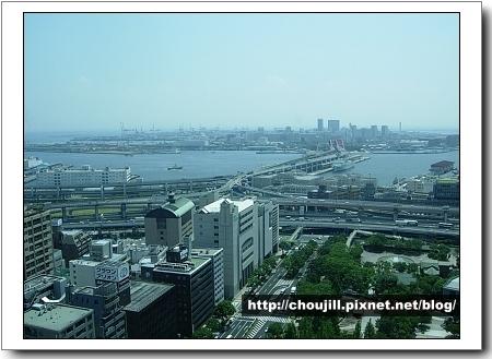 神戶市政府大樓觀看神戶市港口及街景-1
