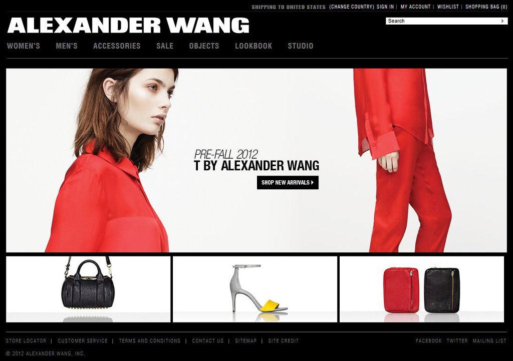 alexander wang 官網