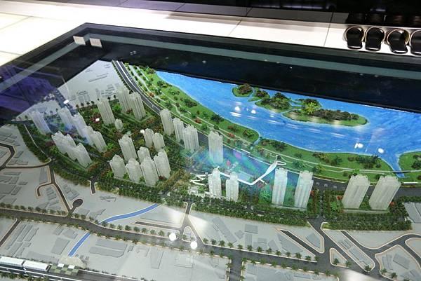 中和左岸/中和二代宅/紫金園-模型展示