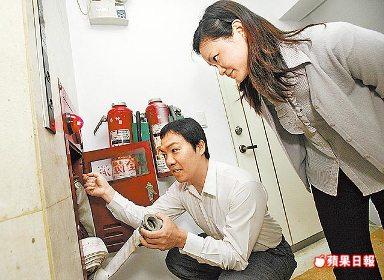 竹北租屋--安全租屋 留意消防逃生設備