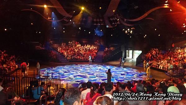 獅子王慶典舞臺