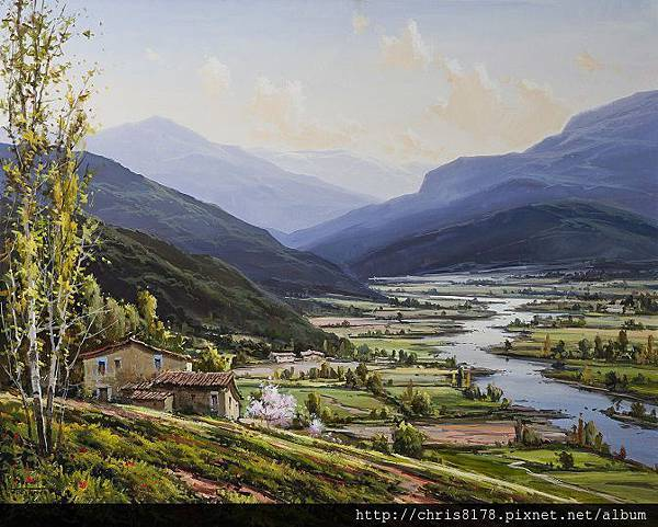 Fermin Colomer_ART2014_The valley_Oil_81x65cm_2014.JPG