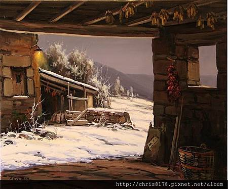 Fermin Colomer_ART2014_Winter from the corral_65x54cm_2012.jpg