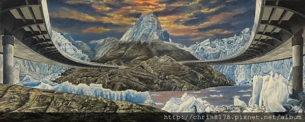 10611_Martin Ballesteros_ART2015_5_Puente y Glaciar(dyptich)_oil_120x49cm.jpg