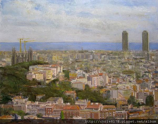 10550_Alicia Grau_ART2015_3_Two Towers_oil_92x73cm.jpg