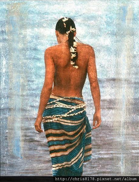 10610_Enric Aromi_ART2015_9_Kaya en el Tropico_mixed media_65x81cm.jpg