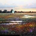 10626_Miguel Peidro_ART2016_2_Sunrise in the Dehesa_100x100cm_Oil on canvas_2015.jpg