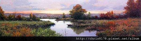 10626_Miguel Peidro_ART2016_6_The River_100x30cm_Oil on canvas_2015.jpg