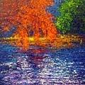 10876_Andres Rueda_ART2016_1_Autumn in the pond_複合媒材_80x80cm_2015.jpg