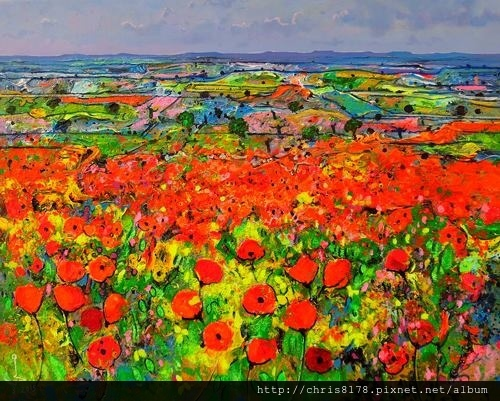 10879_Ulpiano Carrasco_ART2016_2_POPPIES_oil_65X81cm.jpg