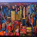 10879_Ulpiano Carrasco_ART2016_6_AMANECE EN NUEVA YORK_oil_50X50 cm.jpg
