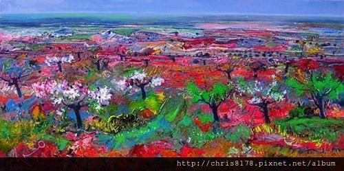 10879_Ulpiano Carrasco_ART2016_8_ALMENDRAL CUAJANDO_oil_50X100cm.jpg