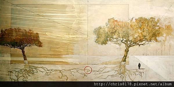 10877_Javier Bajo_ART2016_4_Roots_複合媒材_120x60cm_Dyptich_2015.jpg