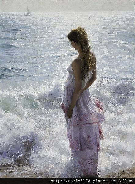 10880_Vicente Romero Redondo_ART2016_3_Mediterranean Breeze_粉蠟筆(pastel on Ingres paper over an impasto base)_54x73cm_2015.jpg
