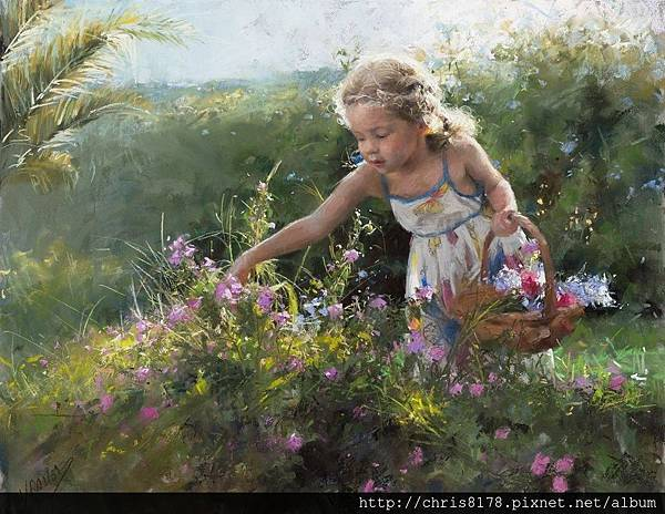 10880_Vicente Romero Redondo_ART2016_6_The little gardener_粉蠟筆(pastel on Ingres paper over an impasto base)_65x50cm_2016.jpg