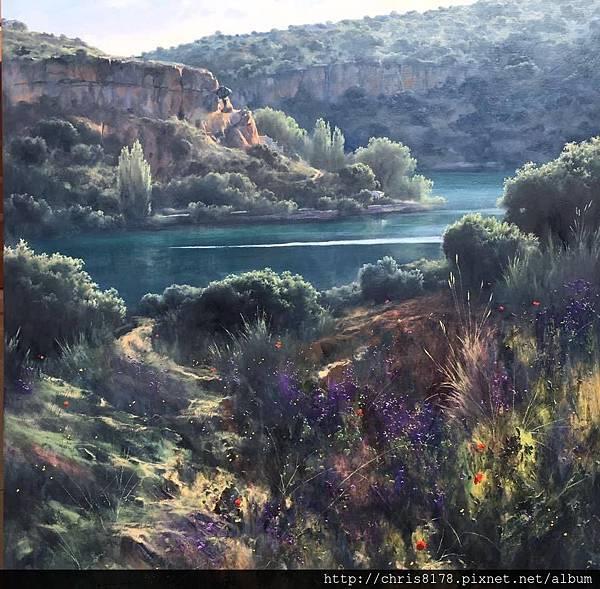 11040_Fermin Garcia Sevilla_ART2017_6_Rocas por la Laguna de San Pedro_90x90cm.jpg