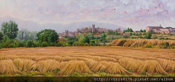 11041_Jordi Isern_ART2017_3_El blat de les nostres muralles_130x60cm_Oil on canvas.jpg