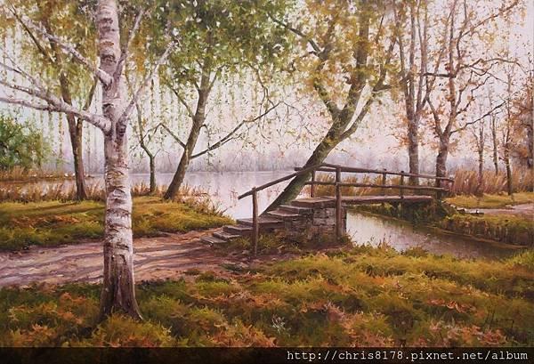 11041_Jordi Isern_ART2017_6_Llums de tardor a Banyoles_73x50 cm_Oil on canvas.jpg