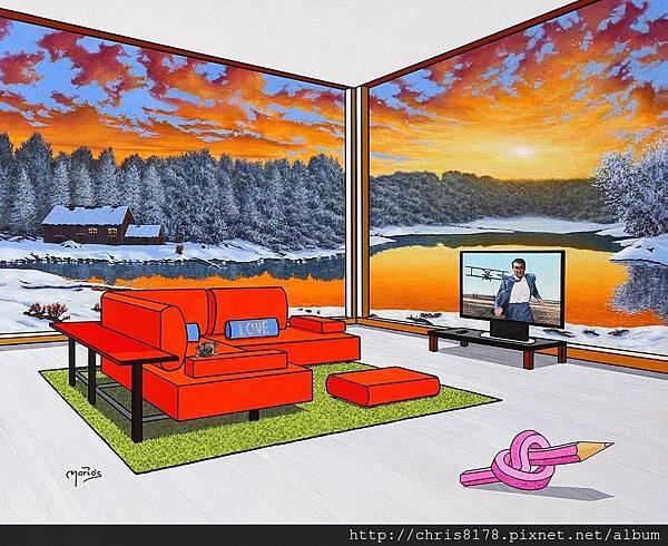 10092_Mario García Miró_ART2017_5_La Huida_92x73cm_Oil on canvas.jpg