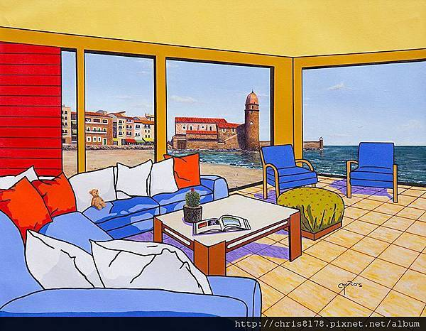 10092_Mario García Miró_ART2017_8_Colliure, Rincón del Mediterráneo_73x54cm_Oil on canvas.jpg