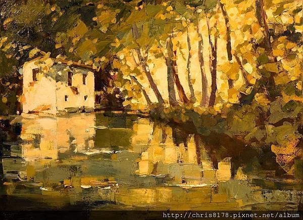 10358_Luis fernandez Hebrero_ART2017_5_La Casa de las Truchas_油畫_100x73cm_sm_2016.jpg
