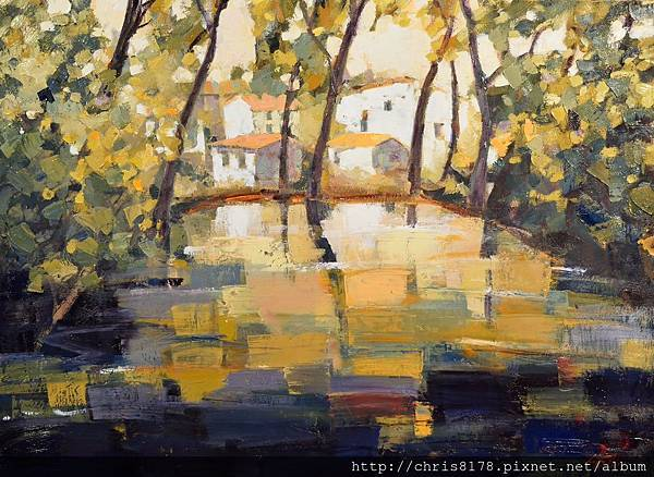 10358_Luis fernandez Hebrero_ART2017_8_Reflejos y umbria_73x100cm_Oil on canvas_sm_2016.jpg
